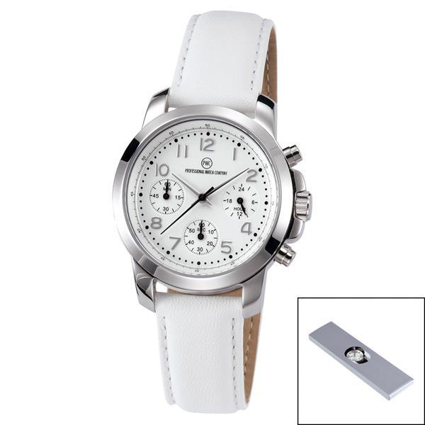 Chronograph ´Kentucky light Damen silber´
