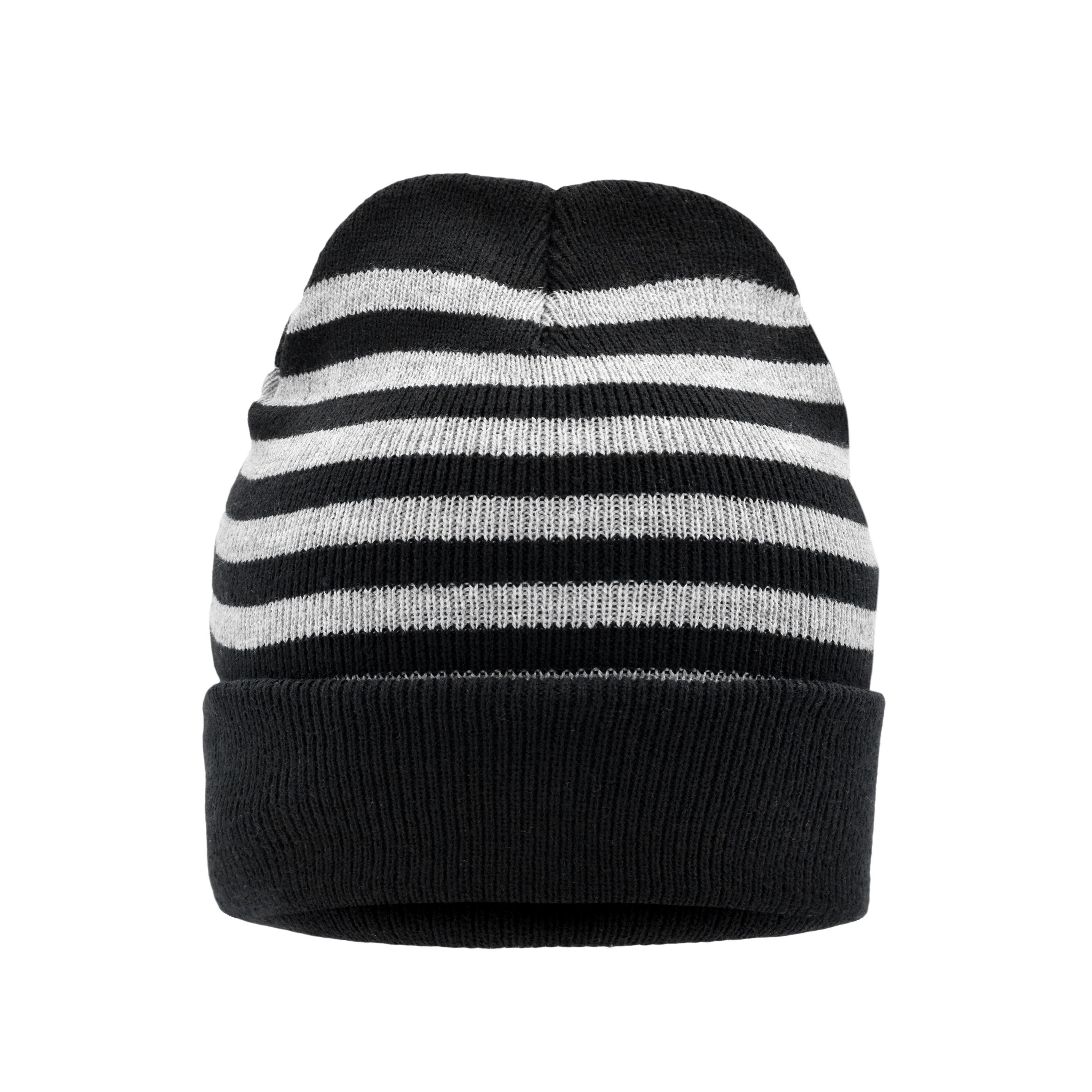 Striped Winter Beanie